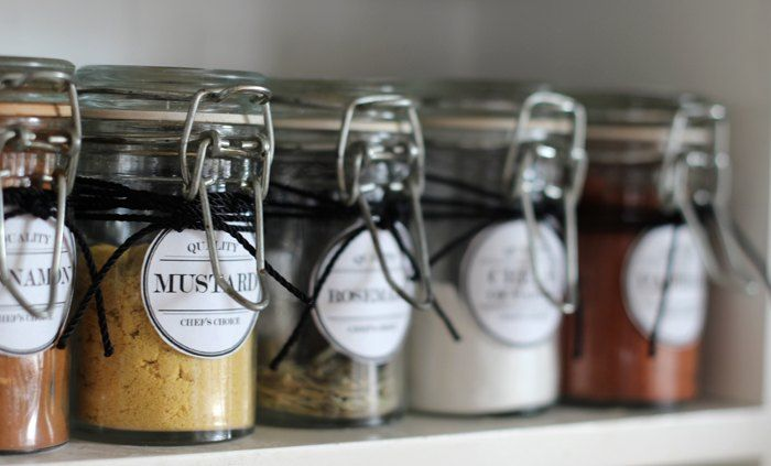 Fifteen years ago I bought a small spice cabinet from Target which was actually meant to be a bathroom cabinet. I filled it with small glass jars & then I hand…