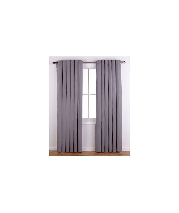 Buy ColourMatch Lima Eyelet Curtains - 117x183cm - Smoke Grey at Argos.co.uk - Your Online Shop for Curtains. #ArgosRoomInspiration