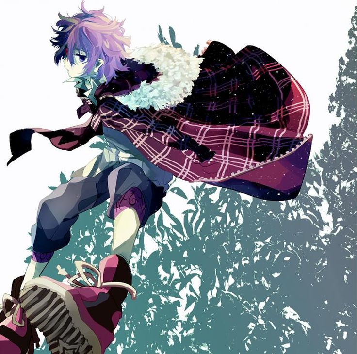 Аниме картинка, арт. Шики, мёртвый демон. http://animekomori.com/