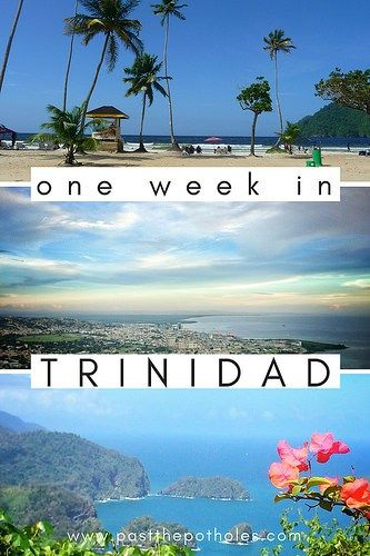 One week in Trinidad - perfect itinerary for beach, hiking, nature and culture.