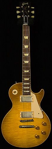 "Joe Bonamassa ""Skinnerburst"" Les Paul VOS Dirty Lemon Burst"