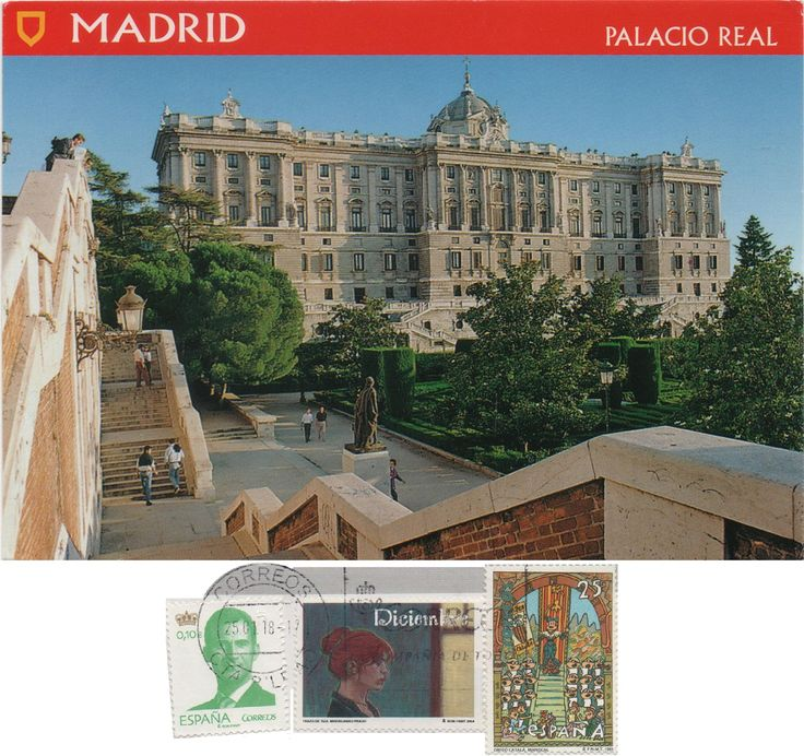ES-500934 (2018°17) - Arrived: 2018.02.05   ---   The Royal Palace of Madrid is the official residence of the Spanish Royal Family at the city of Madrid, but it is only used for state ceremonies. King Felipe VI and the Royal Family do not reside in the palace, choosing instead the more modest Palace of Zarzuela on the outskirts of Madrid.