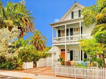 Key West house rental - Casa Oliviana has been painstakingly restored to its original beauty.