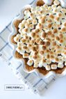 We're self-professed s'more addicts here at SMP, and we've found a kindred spirit in Mara of M Loves M who came up this mouthwatering take on s'mores a la pie form! Buttery graham cracker crust, silky smooth homemade chocolate pudding and mounds of mini 'mallows toasted before serving—dare we say it's even better than the […]