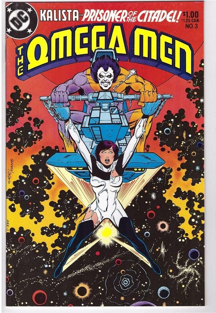 The Omega Men #3 June 1983 DC Comic Book First Appearance Lobo Movie Coming Soon