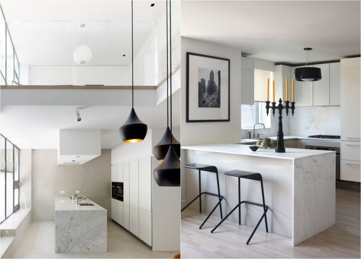 Die besten 25+ weißer Marmor Küche Ideen auf Pinterest Marmor - matt schwarze kchen
