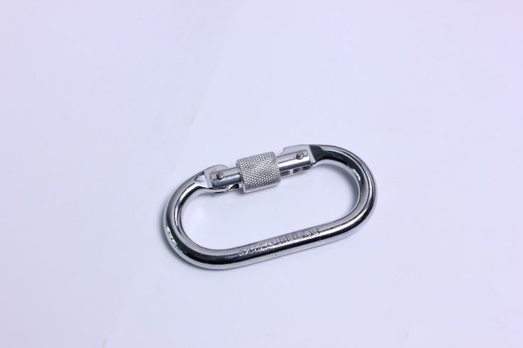 Yoga hammock Climbing Lock Professional Safety O Buckle Lock Carabiner 25KN Rock Climbing Equipment Travel Accessories