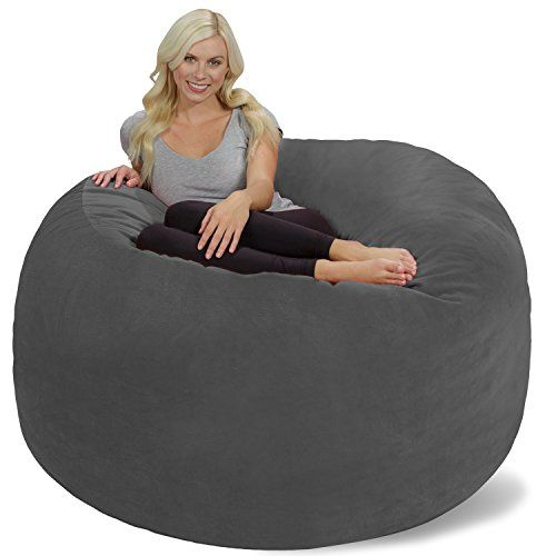 Chill Bag  Bean Bags Giant Bean Bag 6 Grey Pebble *** Check out this great product.