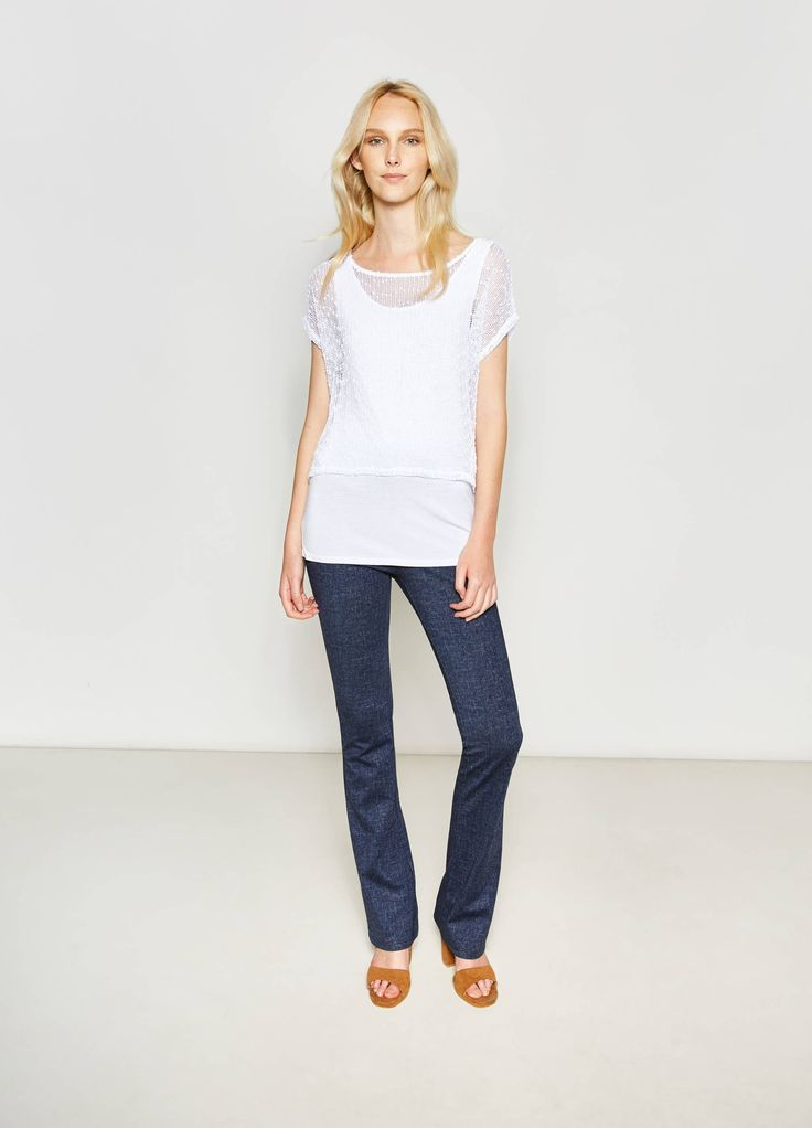 Buy online Openwork crop T-shirt and top set on OVS. Find the best offers for the category undefined of the collection 2017.