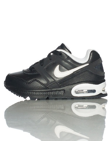 NIKE Medium top sneaker Front lace closure Padded tongue with logo  Signature swoosh on sides Air