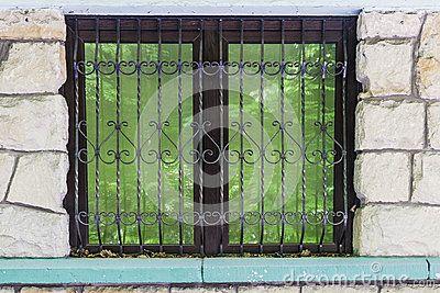 Window in the shop  in the village Roznow in Malopolska  . Poland. Europe.