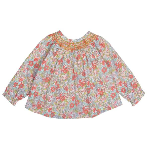 Griotte Blouse Strawberry Liberty Print