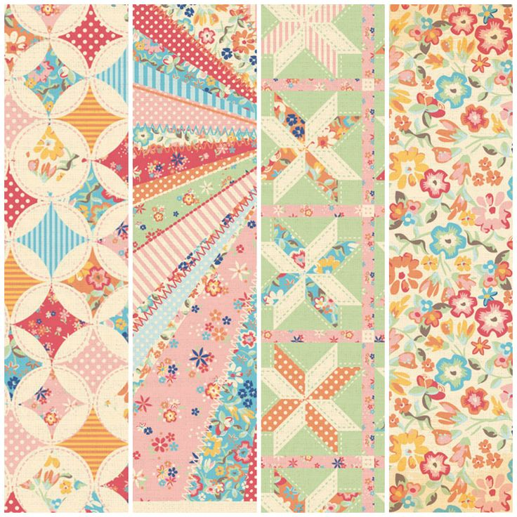 Cosy up with these Country Quilt free digital papers for card making and scrapbooking!