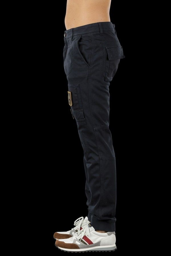Plush trousers with zipper closure | Aeronautica Militare