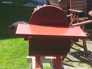 Projekt Tellerschleifmaschine