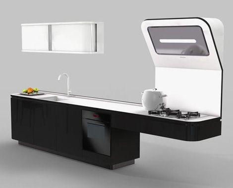 Practical Kitchen by Veneta Cucine – Liquida