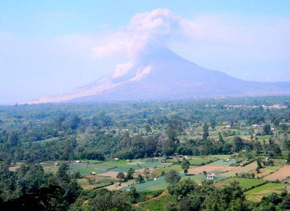 Mt. Sinabung post-eruption