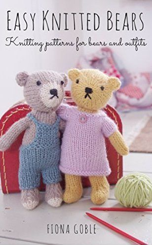 Free Knitting Pattern Ebook Easy Knitted Bears - Learn to knit your own gorgeous bears with these easy-to-follow knitting patterns from bestselling knitting writer Fiona Goble. There are also instructions to create a host of clothes, including bride & groom outfits, a graduation outfit, a Santa costume, a ballet outfit, and a sports outfit. This book is available for free as a Kindle ebook that you can read on ANY device with their free Kindle app.