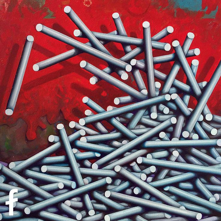 Carlo Petrini olio su tela - artista contemporaneo a trieste