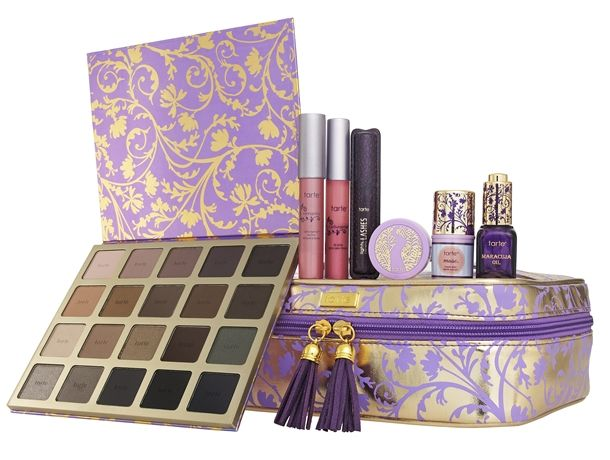 if you love matte neutral eyeshadows, THIS is a must have!!    Tarte Holiday 2014 Palettes and Gift Sets