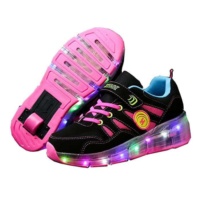 Sneakers WheelsKids Roller Led Shoes Fashion Cps Ufatansy PTukXZiO