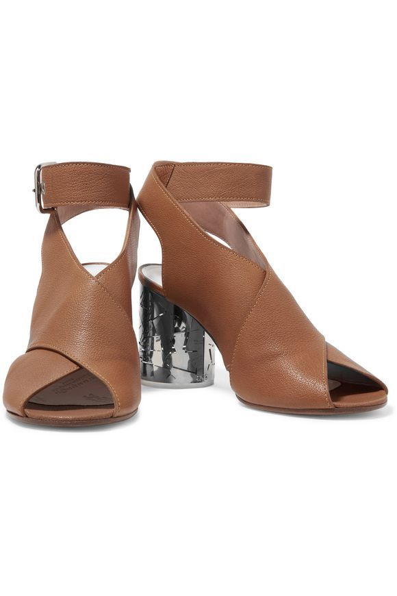 Textured-leather sandals | MAISON MARGIELA | Sale up to 70% off | THE OUTNET
