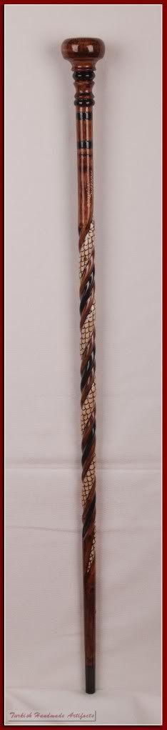 Wood Walking Cane  Wooden Cane  Walking by HandmadeWalkingStick, $75.00