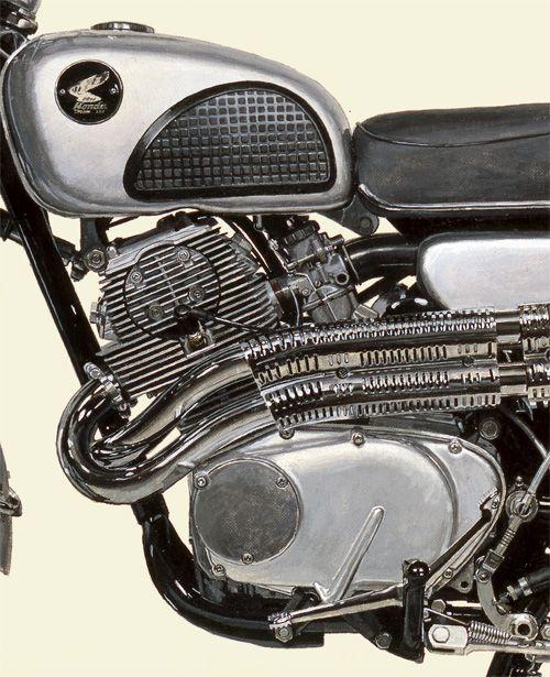 1962 HONDA Dream CL72 Scrambler - Seevert Works online