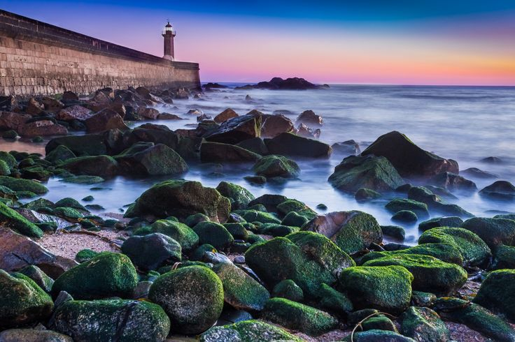 Sunset color-Foz by paulo silva on 500px