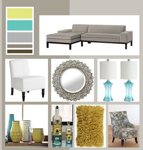 Absolutely love this color combination. I'm thinking living room also. Color scheme for living room??