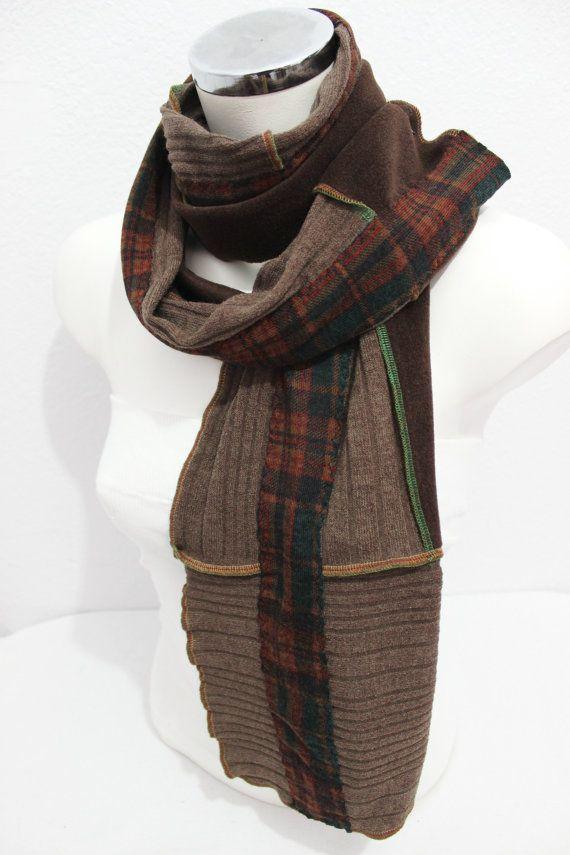 Men's plaid scarves oversized scarves Men Alloy by Nazcolleccolors