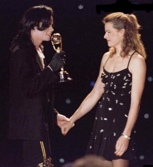 Image result for princess stephanie and michael jackson in 1996