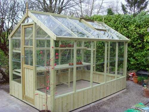 How to build a cool green house, with plans and material list