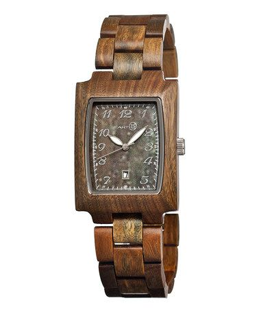 Take a look at this Olive Wood Cork Watch by EARTH watches on #zulily today!
