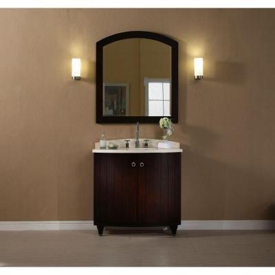 Digital Art Gallery Xylem Capri in W x in D x in H Bathroom Vanity