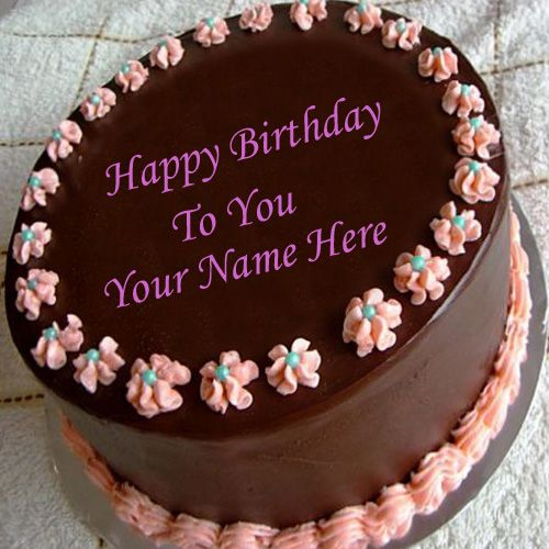 Birthday Cake Images With Name For Facebook