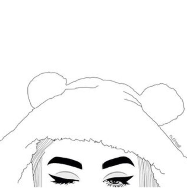 Starbucks Outline Tumblr Drawing
