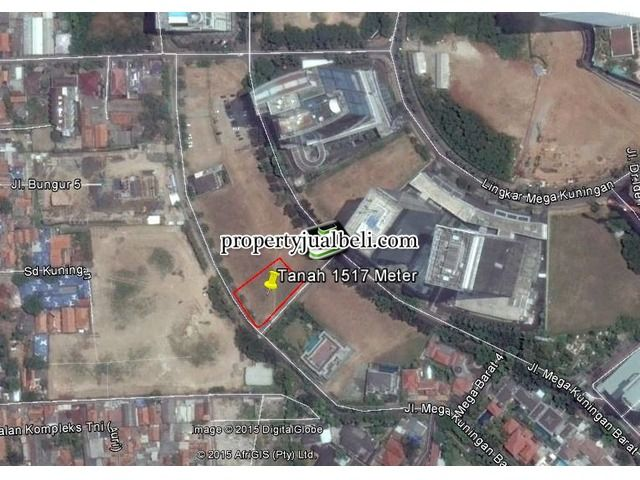 Tanah dijual area Kawasan Mega kuningan
