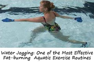 Simple aqua aerobics exercises to improve your health! It's both effective and fun. The buoyancy of water vastly reduces the impact on your joints.