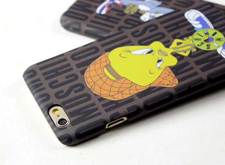 Moschino iphone7/6splusケースアイフォン保護カバー ハードケースキャラクターBugs Bunnyバッグス・バニー送料無料
