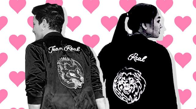 OMG! Nadine Lustre And James Reid Actually Have Matching Couple Jackets