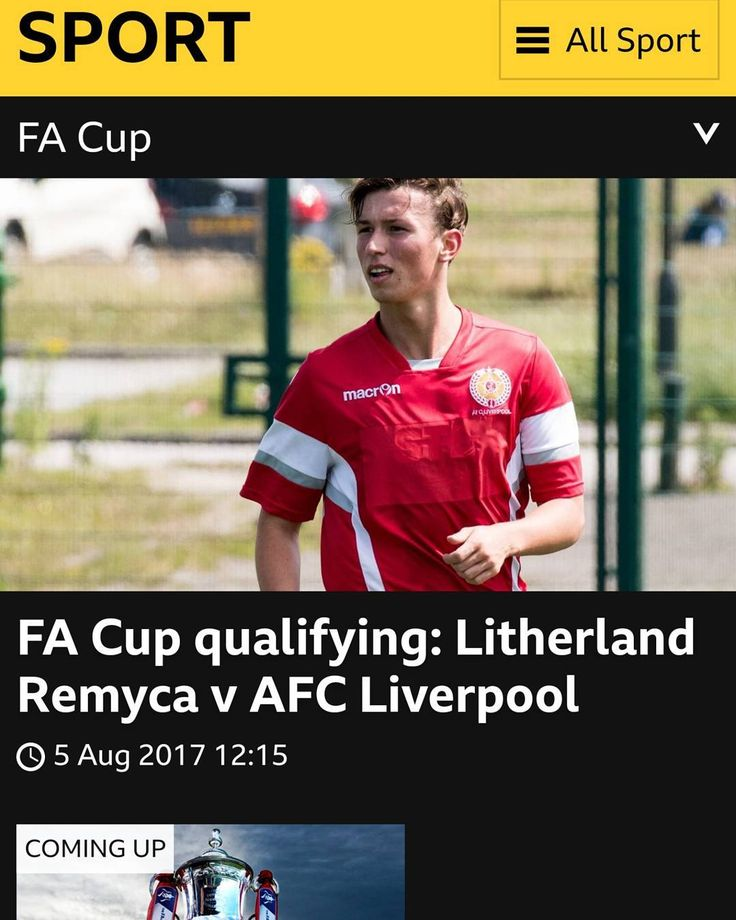 AFC on the BBC. Link to stream in bio.  #bbcfacup  #emiratesfacup  #liverpool #nonleague