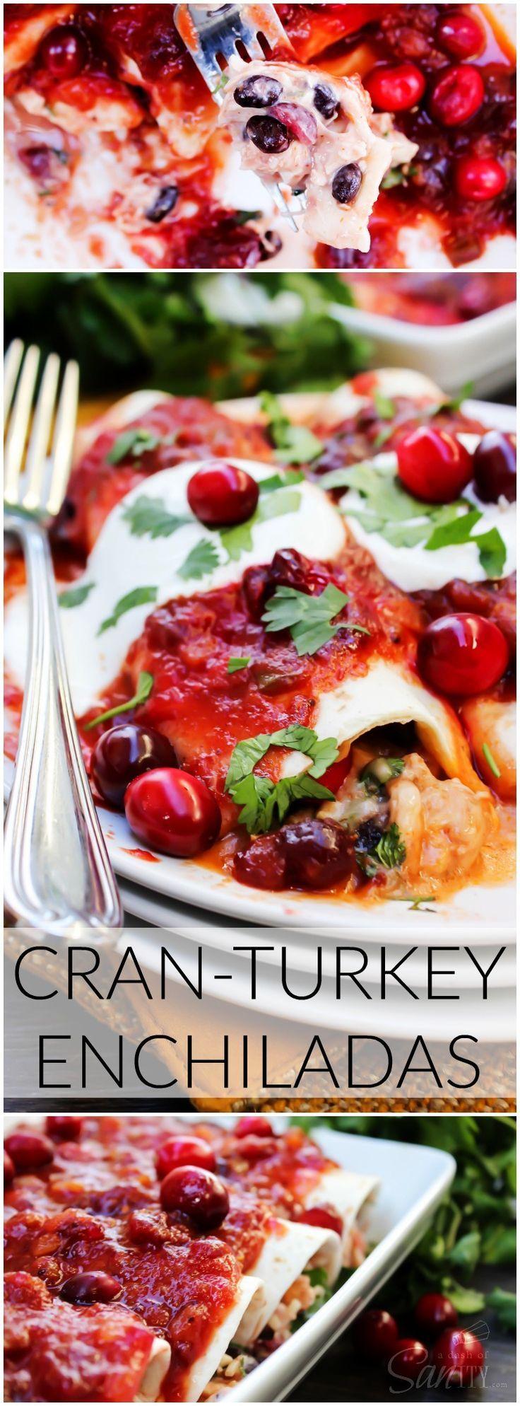 Cran-Turkey Enchiladas long pin