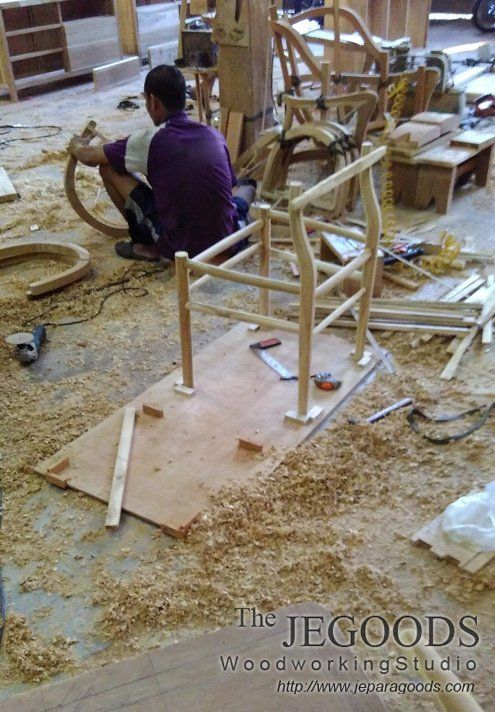 We mastering on chair design to make it precisely as high quality furniture. #teakcraftsman #indonesiafurniture #furnituredesign #furniturecraftsman #teakretro #chairdesign #scandinavian #furniturewholesale http://jeparagoods.com     Jegoods Woodworking Studio Furniture Indonesia (@jeparagoods) | Twitter