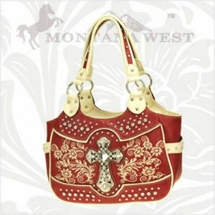Womens purse , Red , Spiritual , Purse handbag  #MontanaWest #ShoulderBag