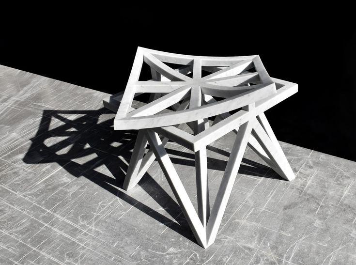 Geometric Furniture Inspired By Arabesque Motifs