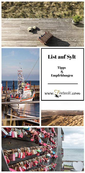List auf Sylt:  Sehenswürdigkeiten und Tipps #Sylt #List #Tipps #Reisetipps #Nordsee #Insel