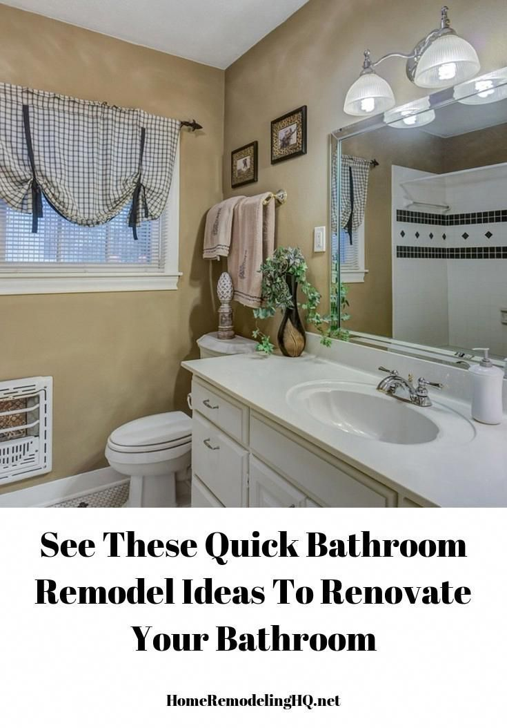 These Bathroom Remodels Can Give You A New Look Quickly Bathroomrenovation Bathrenovations Bathroominspirati Simple Bathroom Bathrooms Remodel Bathroom Redo