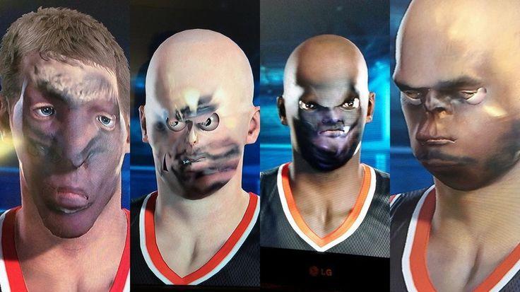 NBA 2K15: novo jogo tem problemas com o reconhecimento facial - http://showmetech.band.uol.com.br/nba-2k15-problemas-reconhecimento-facial/