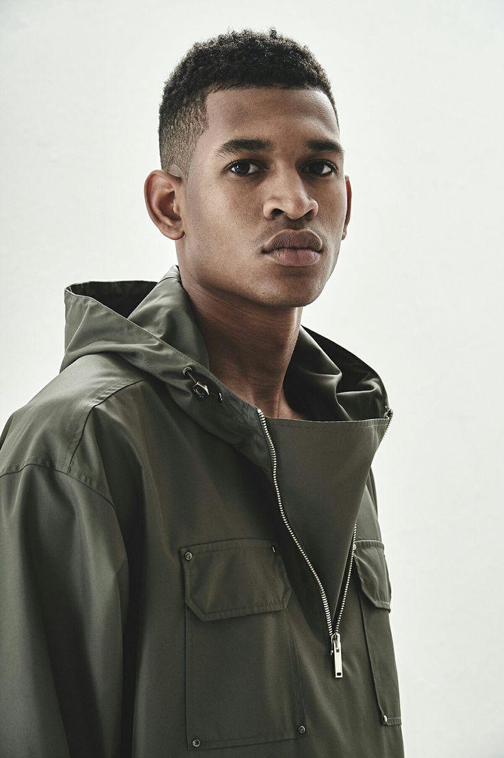 BERKHAN HALF ZIP HOODIE - KHAKI fashion 16ss hoodie hiphop style high quality culture